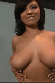 HORNY_BRUETTE_HALLIE_GETS_CUMS_ALL_OVER_HER_BIG_TITS